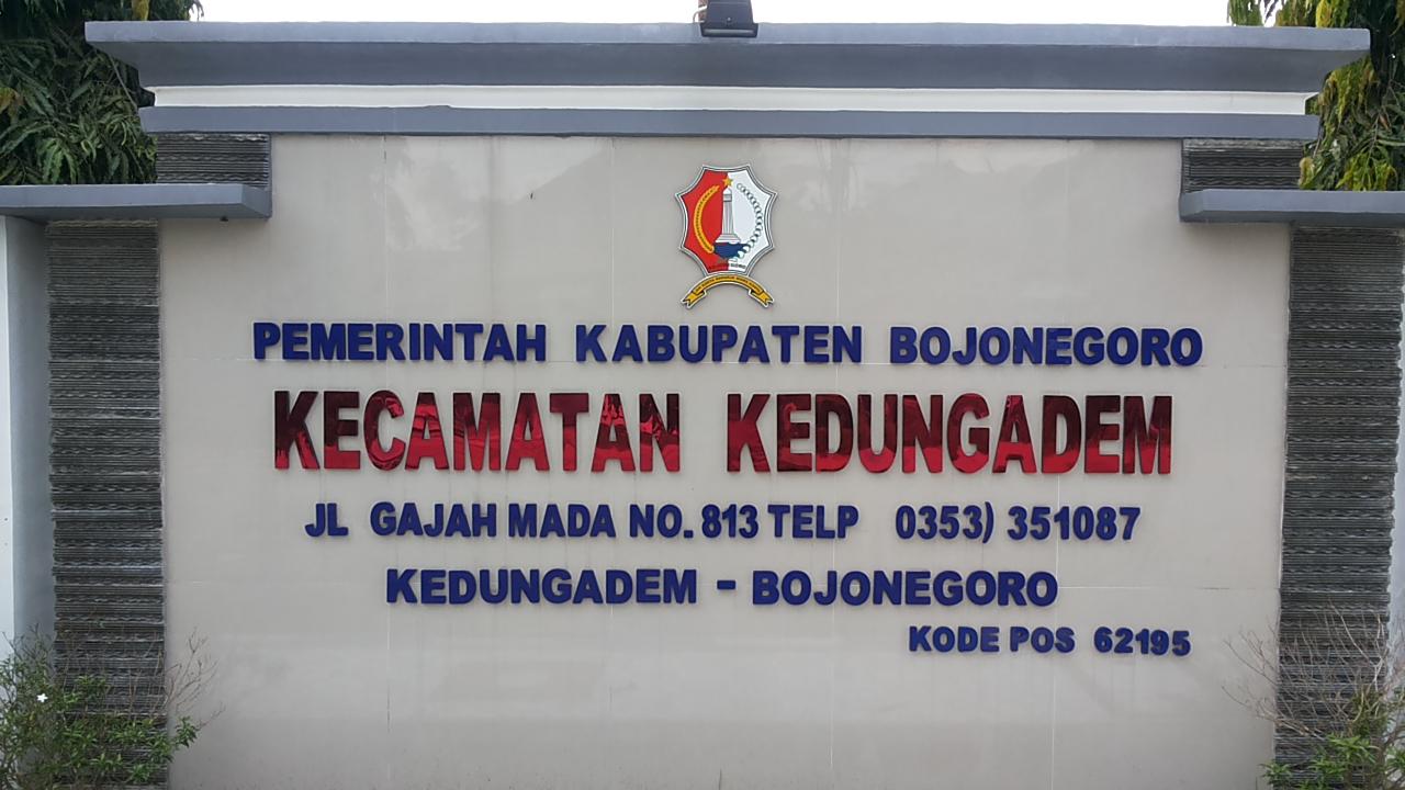 Pemerintah Kabupaten Bojonegoro<BR>KECAMATAN KEDUNGADEM